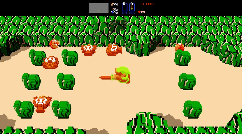 Legend of Zelda 3D Remake Nintendo Klassiker Browser