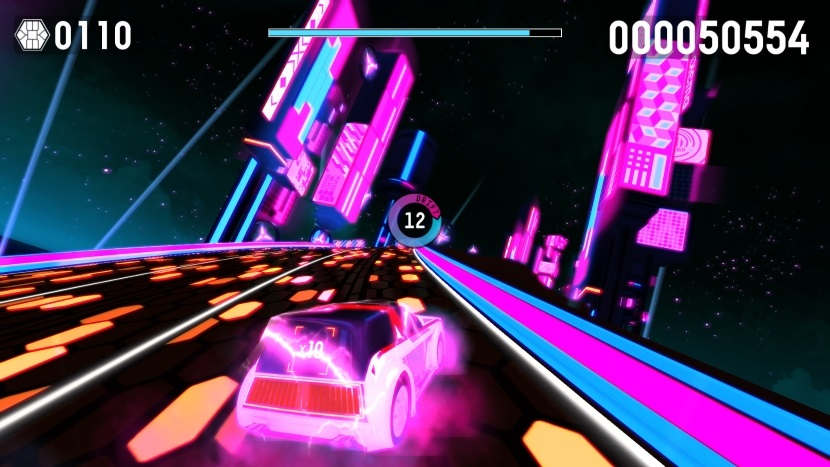 Riff Racer Test Eure Songs Sind Rennstrecken Steam Indie Game
