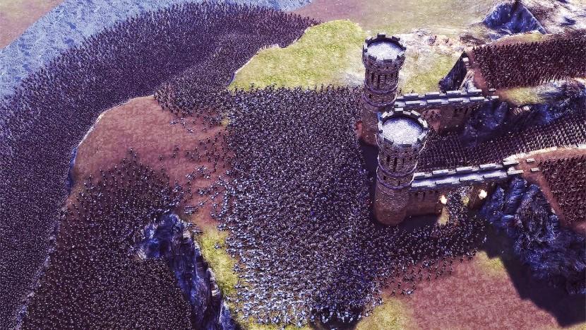 Massenschlachten-Spiel lässt 25 Tsd. Einheiten aufeinander treffen