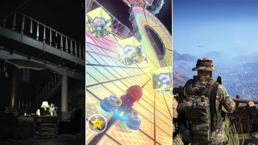 Was habt ihr zuletzt gespielt - Eure Games der Woche KW 5-17 Resident Evil 7 Mario Kart 8 Ghost Recon Wildlands