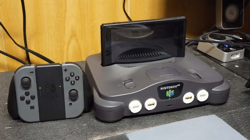 Nintendo Switch Modder baut N64 in eine Docking-Station um