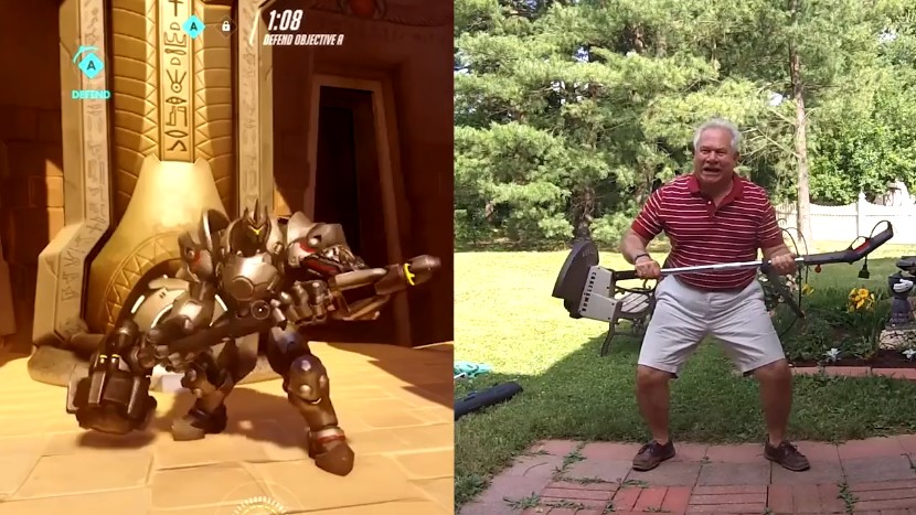Overwatch-Dad setzt sich für Helden-Emotes in Szene