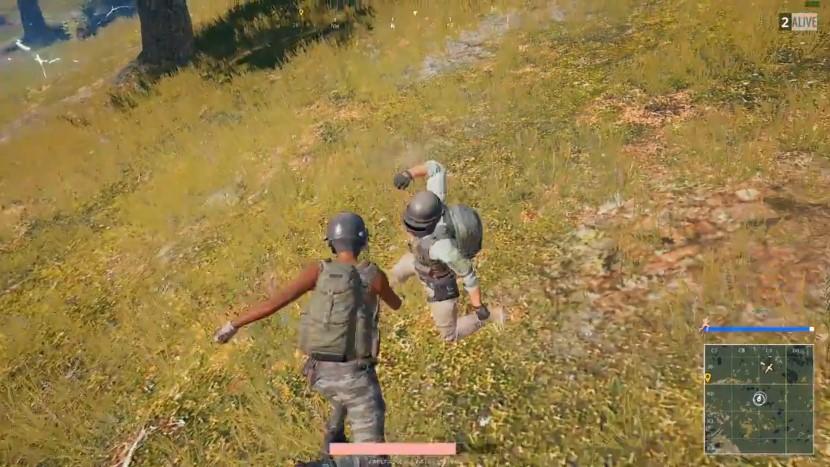 PlayerUnknown's Battlegrounds: Waschechte Prügelei entscheidet Match