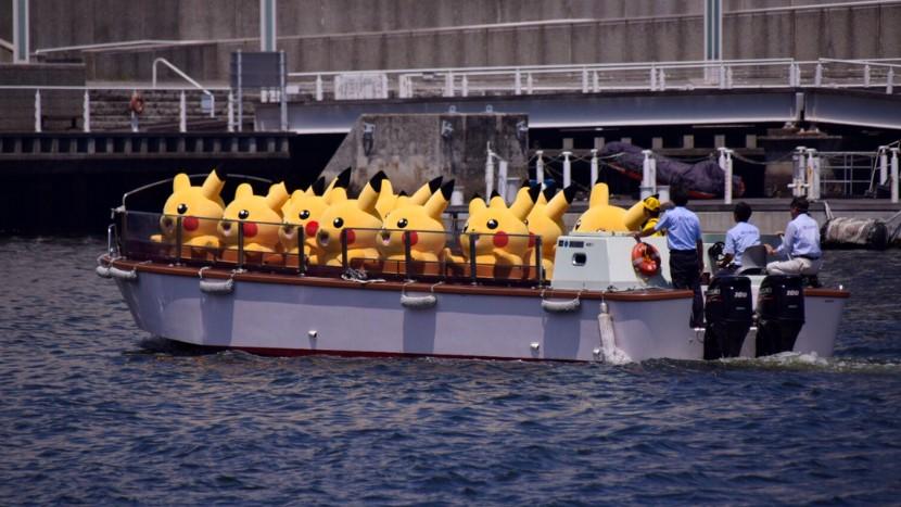 Pikachu-Invasion in Japan